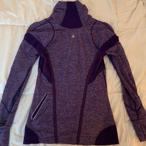 Purple lululemon 1/4 zip